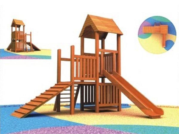 木质滑梯02