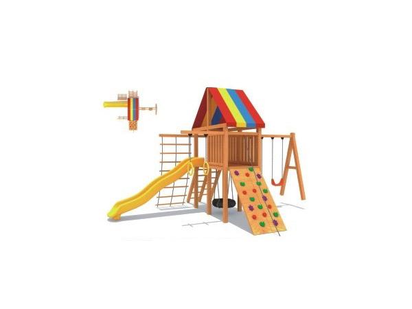 木质滑梯01