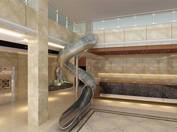 不锈钢滑梯06