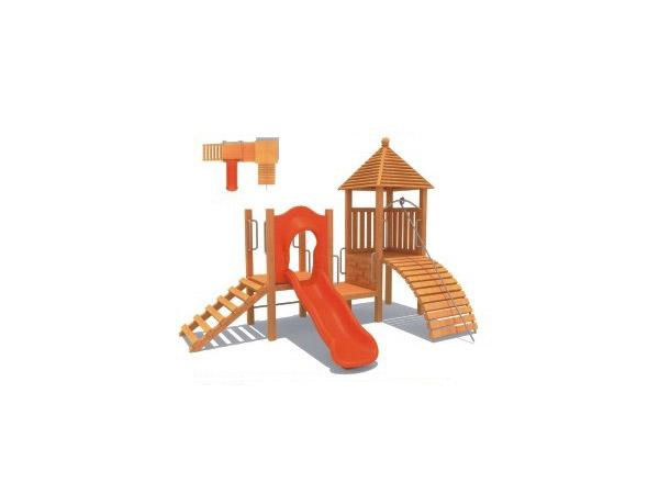 木质滑梯06