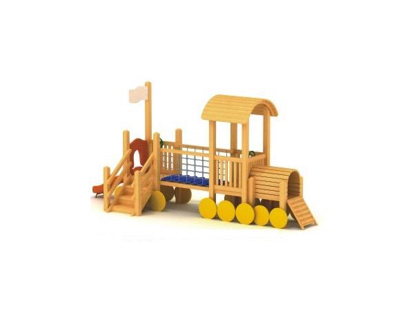 木质滑梯04