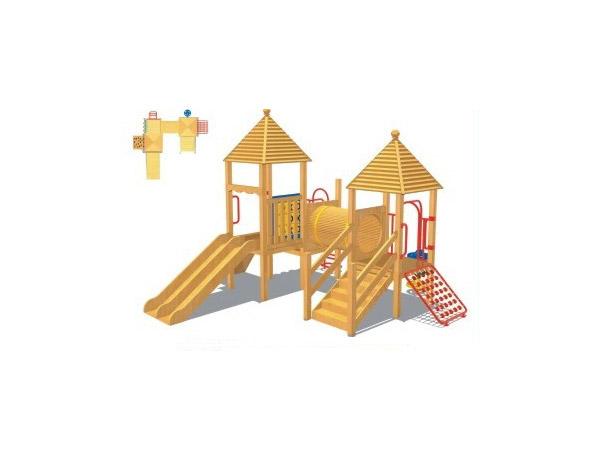 木质滑梯03